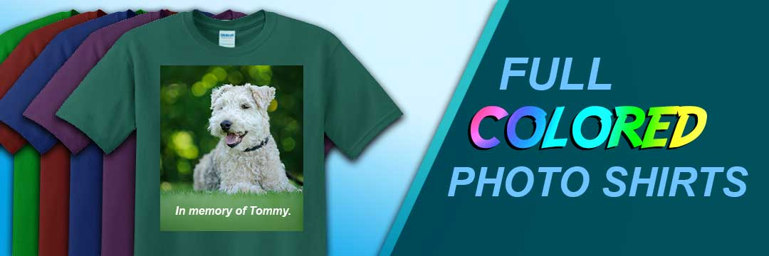 Full color photo shirts - Shirts Next Day